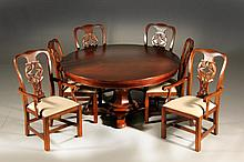 (8) Pc Bernhardt Mahogany Dining Set