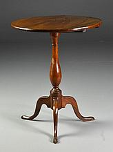 Queen Anne Tilt-Top Candle Stand