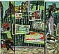 (3) Pc. Italian Ceramic Wall Plaque - Triptych