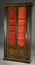 A Neoclassical Style Two Door Cabinet