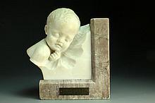 Giovanni Brogi Marble Figural Sculpture