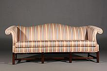 Hickory Chair Co. Chinese Chippendale Style Sofa