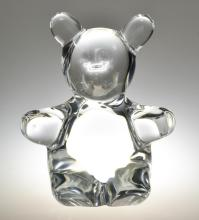 A Daum Crystal Figural Sculpture