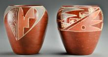 (PR) Teresita Naranjo Polished Pottery Jars