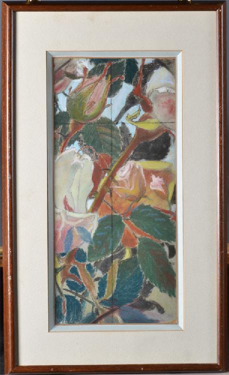 Stanislas Wyspianski,  Pastel on Paper