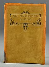 1911 An American Bible Edited By Alice Hubbard