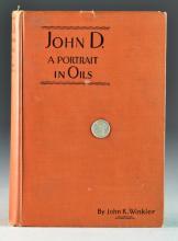 1929 John D. A Portrait In Oils
