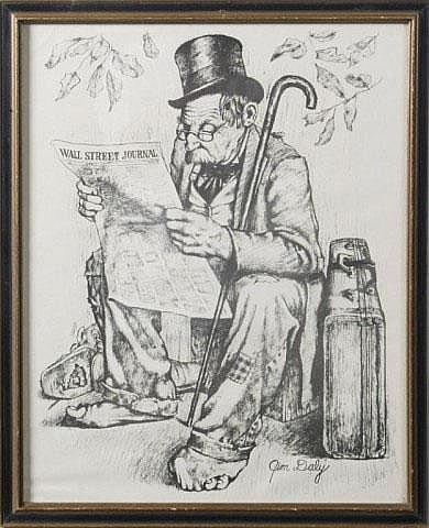 Jim Daly, Print;