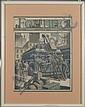 Framed Fortune Magazine Cover~August 1933, Ernest Hamlin Baker, Click for value
