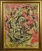 Ignasi Mundo Abstract Impasto Painting, Ignasi Mundó Marcet, Click for value