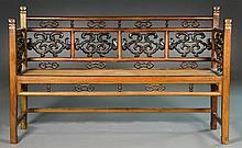 Chinese Qing Hardwood Bench