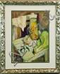 Andre Dunoyer De Segonzac Oil Painting On Paper