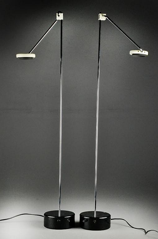 Pr. Modern To Mid Century Microphone Lamps