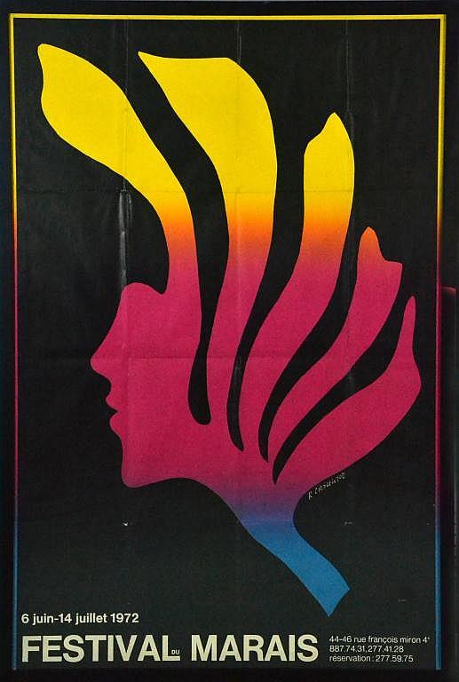 Roman Cieslewicz Art Deco Poster