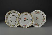 (3) Pcs Continental Porcelain Plates Incl. KPM