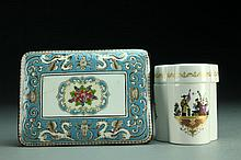 (2) Pcs English Wedgwood & Royal Worcester Porcelain