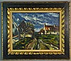 Maurice de Vlaminck (Attributed) Oil Painting on Canvas