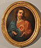 Manner of Pascual Calvo Oil Painting on Board
