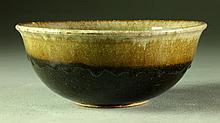 A Roycroft Glazed Pottery Bowl