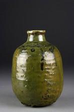 A Fine American Glazed Stoneware Vase
