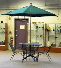 (6) Piece Woodard Style Wrought Iron Patio Set