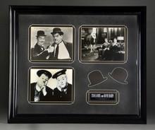 Laurel & Hardy Autographed Photo
