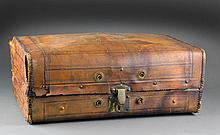 Antique Traveling Suitcase