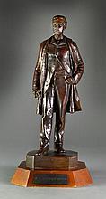 A John Quincy Adams Ward Bronze Statue