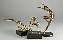 (3) Tom & Bob Bennett Bronze Figural Sculptures