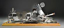 Steel Sculpture From GM Desert Proving Grounds