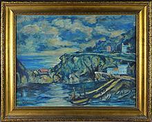 Manner of Oskar Kokoschka Oil Painting on Panel