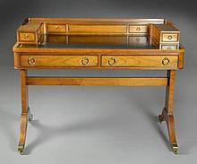 A Baker Furniture Regency Style Writing Desk