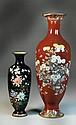 (2) Large Japanese Cloisonné Vases