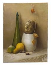 Betti Bernay 1926-2010 Macabre Still Life Painting