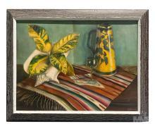 Betti Bernay 1926-2010 Floral Still Life Painting