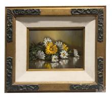Betti Bernay (1926-2010) Daisy Still Life Painting