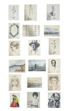 Betti Bernay 1926-2010 Drawing & Sketch Portfolio