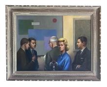 Betti Bernay (1926-2010) American Realism Painting