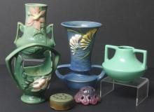 COLLECTION OF ART POTTERY