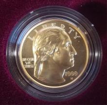 1999 GEORGE WASHINGTON $5 GOLD COIN