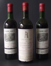 3 BOTTLE VINTAGE BORDEAUX WINE
