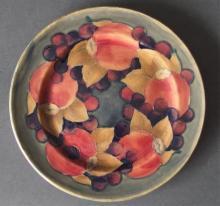 MOORCROFT POMEGRANATE PLATE