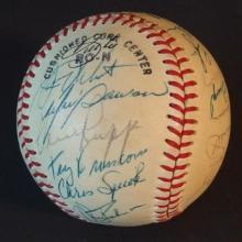 1993 MONTREAL EXPOS SIGNED BASEBALL