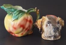 PAIR OF ROYAL BAYREUTH WATER PITCHERS