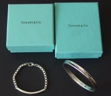 TIFFANY & CO STERLING JEWELRY WITH BOXES