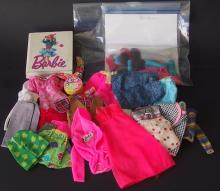 COLLECTION OF VINTAGE BARBIE CLOTHING