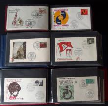 200+ VINTAGE GERMAN FIRST DAY COVERS