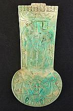 EGYPTIAN FAIENCE MENAT COUNTERPOISE Late Dynasty