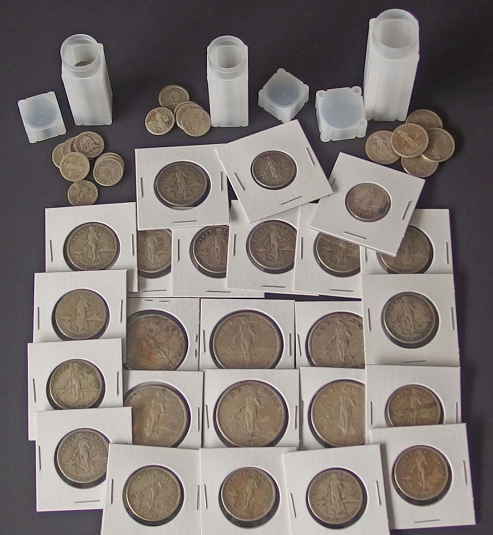 GRAND COLLECTION OF PHILIPPINES SILVER COINS
