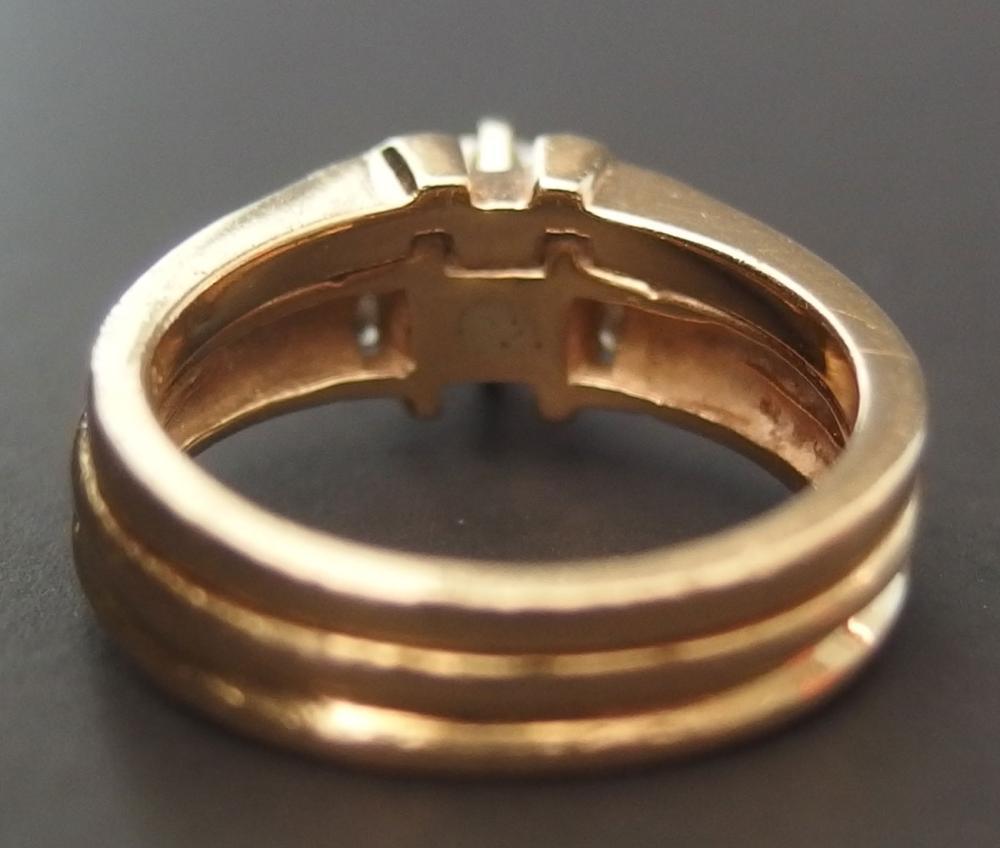 14KT GOLD 0.80 CT SINGLE STONE DIAMOND RING